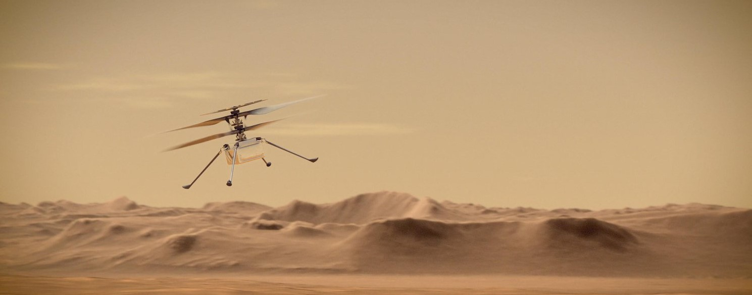 Czy jesteśmy w stanie latać na Marsie?