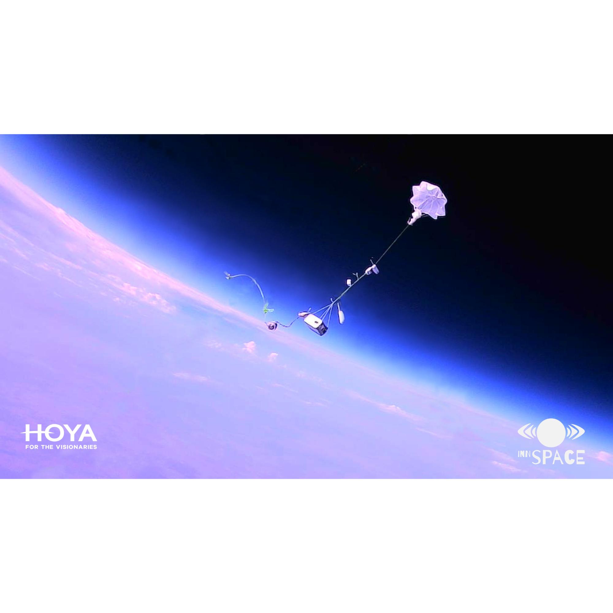 Wysłać soczewki w stratosferę
